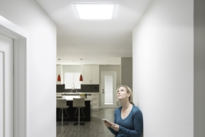 a woman finding ways to improve her home