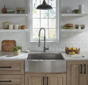white kitchen   On Target Home Inspection   holiday ready Orland Park
